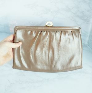 Vintage Clutch with Mirror